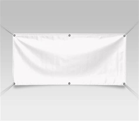 vinyl banner template blank banners white banners signazon