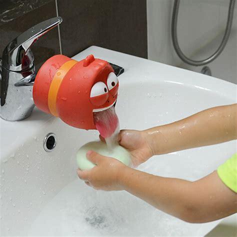 bathtub faucet extender faucet extender help kids washing in bathroom cartoon