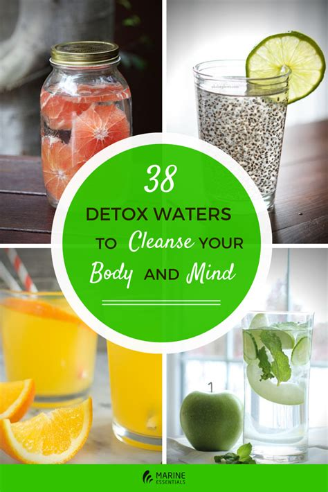 Detox Your by 38 Detox Waters To Cleanse Your And Mind Marine