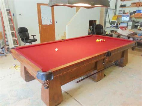 antique brunswick balke collender medalist pool for sale
