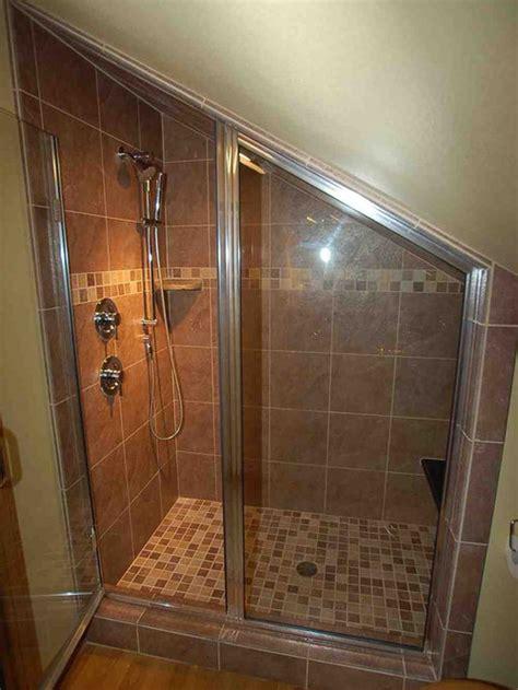 attic shower design ideas remodel pictures houzz