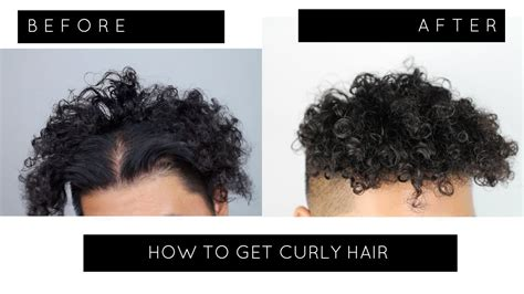 home perm treatment for men how to perm your hair at home curly hair tutorial
