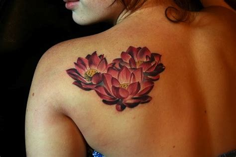 red lotus tattoo 155 lotus flower designs
