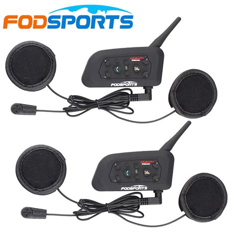 Fodsports! Metal clip soft Headset! 2 pcs V6 Pro