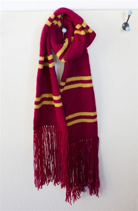 harry potter scarves knitting patterns harry potter scarf knitting pattern a knitting