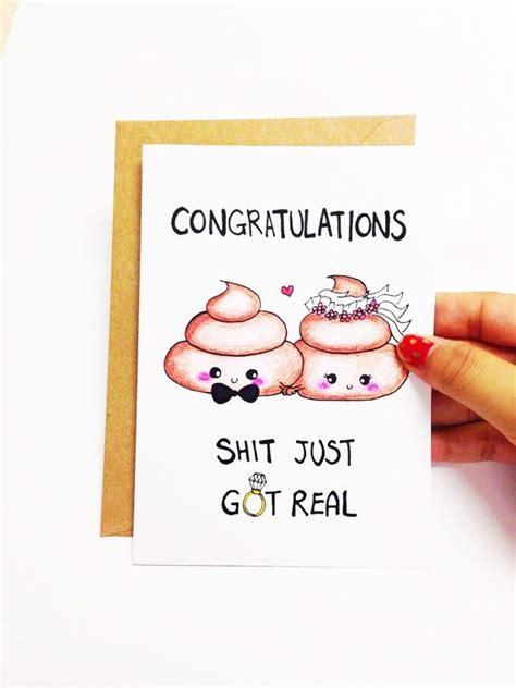 humorous wedding congratulations cards 25 best ideas about wedding congratulations on