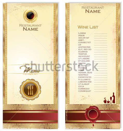 13 Wine Menu Templates Sle Templates Wine Menu Template