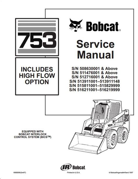 bobcat 753 wiring diagram pdf bobcat skid loader parts