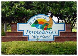 Immokalee is the seminole indian word for my home this small