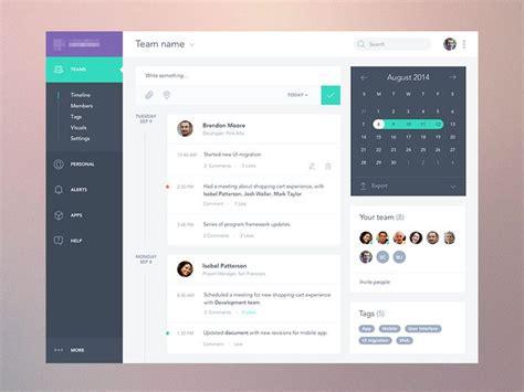 layout design for web application task app dashboard ui tags ui timeline tasks calendar