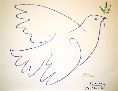 picasso paintings dove of peace pablo picasso dove of peace quot signed lithograph quot