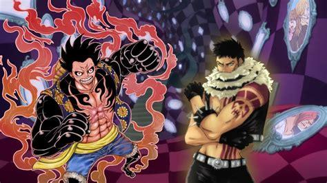 Komik Luffy katakuri vs luffy fight ichiji returns one