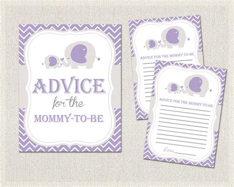 Purple Elephant Baby Shower Theme by Purple Gray Elephant Theme Baby Shower Advice For The