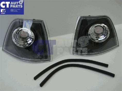 Corner L Bmw 3 Series E36 1991 1998 Clear Merk Depo black front corner indicator lights for bmw 3 series e36 91 98 4d sedan