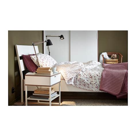 Trysil Bed Frame Trysil Bed Frame White Lur 246 Y Standard Ikea