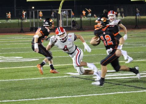 new canaan rams football new canaan rams football routs ridgefield in season opener