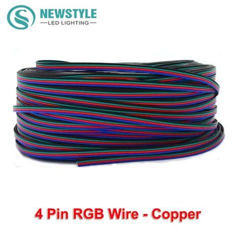 Limited Kabel Jepit 2 Sisi Led Rgb 3528 5050 kopen wholesale rgb led kabel uit china rgb led kabel groothandel aliexpress