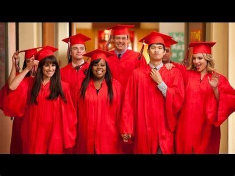 glee  goodbye review season  finale highlights  graduation rachel finn