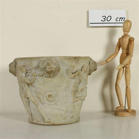 vaso in pietra pietre e arredi giardino antiquariato
