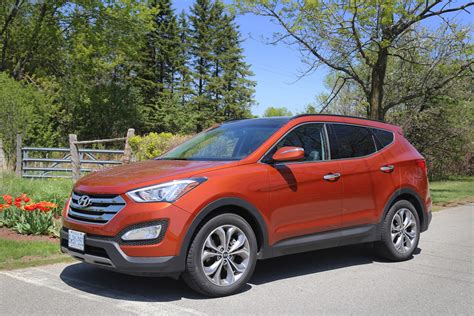 hyundai 2015 sport review 2015 hyundai sante fe sport canadian auto review
