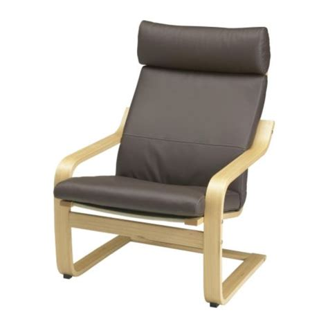 po 196 ng armchair glose brown oak veneer