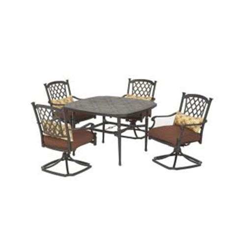 martha stewart sea bright patio dining set from home depot