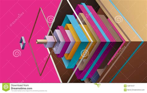 layout composition graphic design abstract composition from multicolor rhombus for graphic