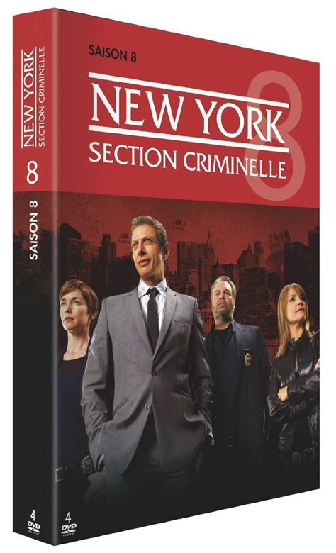 new york sections dvd saison 8 new york section criminelle dvd s 233 ries
