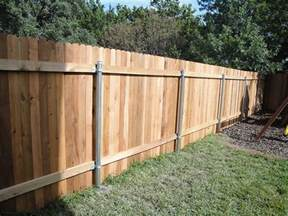 Types Of Wood Fences For Backyard by Types Of Fencing For Homes Fence Gallery
