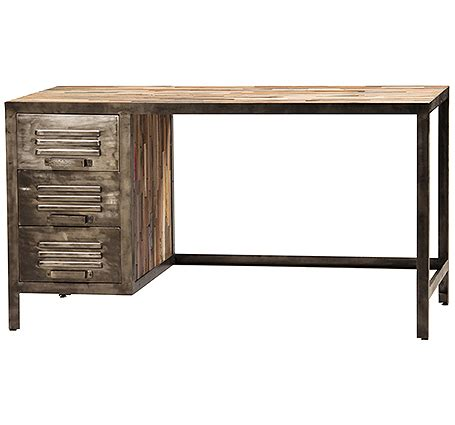 reclaimed wood desk san francisco by beaver