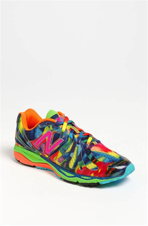 new balance 890 running shoes new balance 890 running shoe in multicolor blue lyst