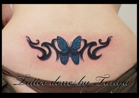 tribal butterfly tattoos on back tattoos back tattoos tribal back designs