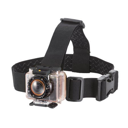 monoprice vented head mount for mhd sport 2.0 wi fi action