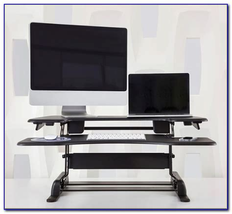 Turn Ikea Desk Into Standing Desk Desk Home Design Turn Your Desk Into A Standing Desk
