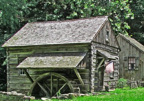 Cabin Photo Album by Cabin With Grist Mill S Photo Album