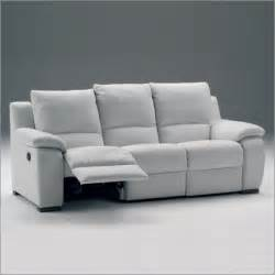 White Leather Recliner Sofa El Ran Leather Recliner Sofa Sofas