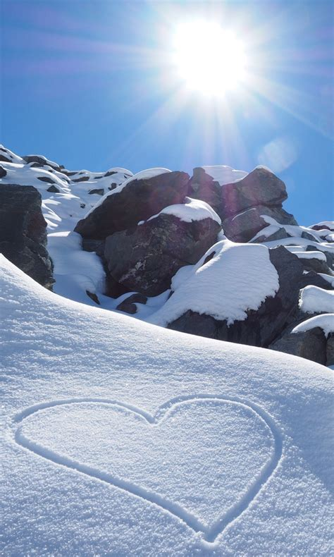 sunny snow rocks  wallpapers hd wallpapers id