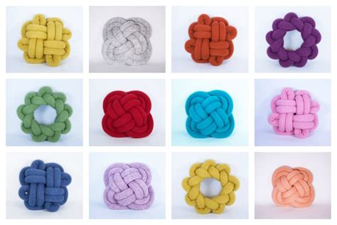 extraordinary diy knot pillows to give new appearance to the originals knotnot knot pillows by umemi cool mom picks