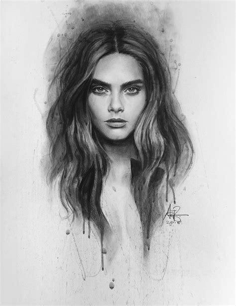 sketchbook cara cara delevingne image 3275602 by bobbym on favim