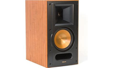 klipsch reference rb 61 ii black ash bookshelf speakers
