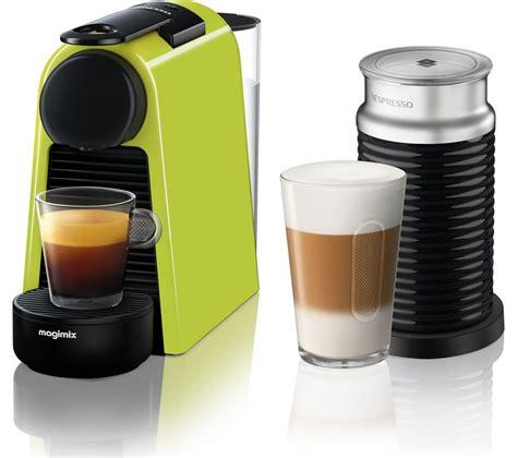nespresso coffee buy nespresso by magimix essenza mini coffee machine with