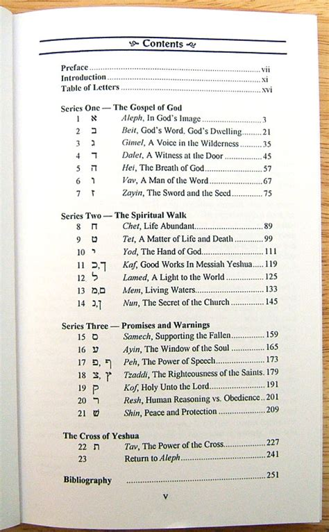 bible table of contents thread how to render table of contents book covers