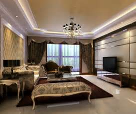 Designer Livingroom New Home Designs Luxury Homes Interior Decoration