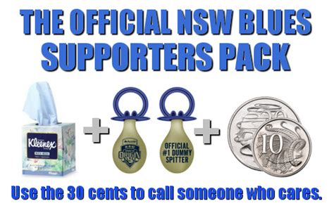 Nsw Blues Memes - the maroon mob the official nsw supporters pack