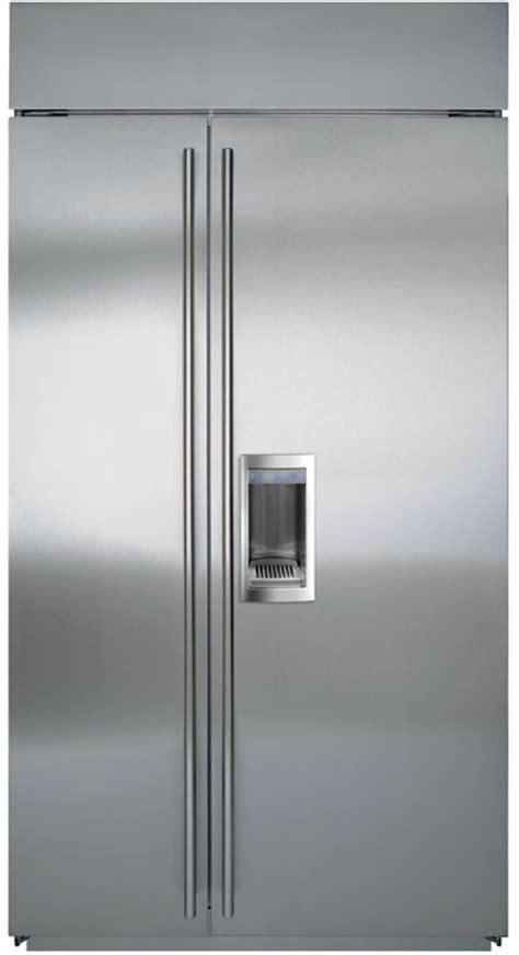 Sub Zero 42 Inch Door by Sub Zero Bi42sd 42 Inch Built In Side By Side Refrigerator