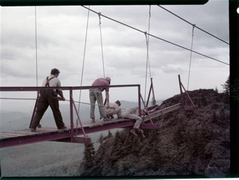 bridge swinging in wind mile high milestone a view to hugh