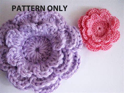 crochet flower pattern easy free patterns for crochet flowers crochet and knit