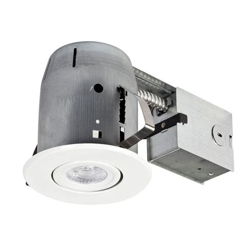 In Led Recessed Lighting Ceiling Lights The Home Depot