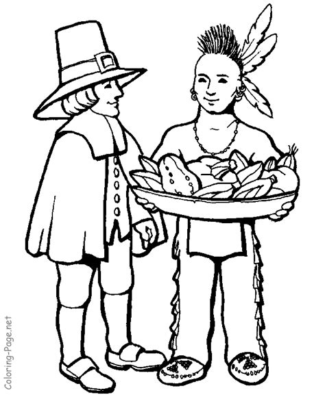 thanksgiving coloring pages indian thanksgiving coloring pages native american