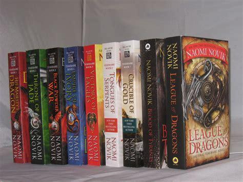 book series temeraire book series by novik complete series